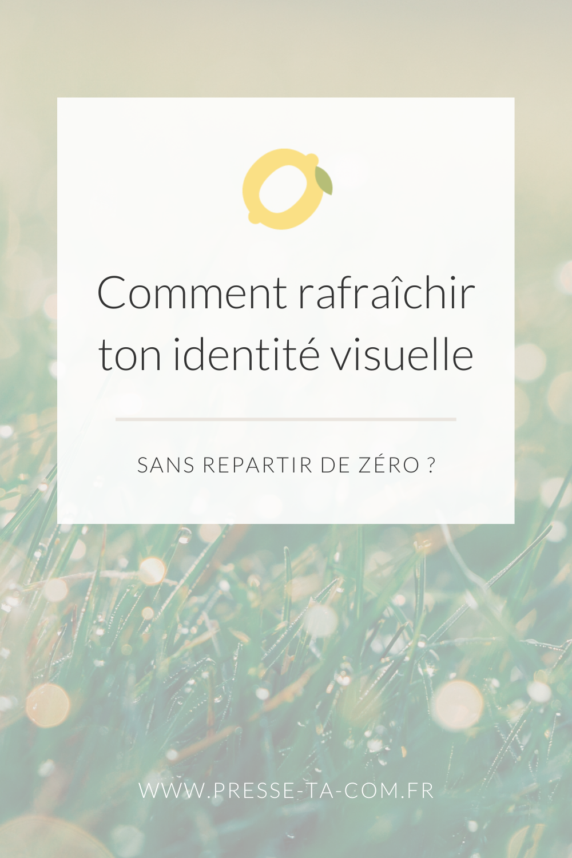 Image Pinterest de l'article sur l'identité visuelle d'une entreprise